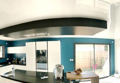 plafond tendu drywall