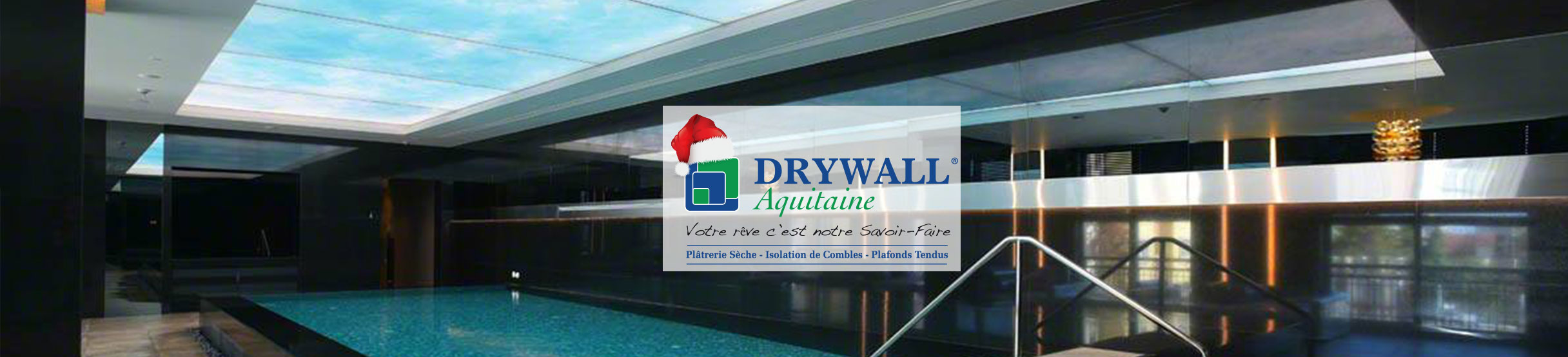 Plafonds tendus drywall aquitaine